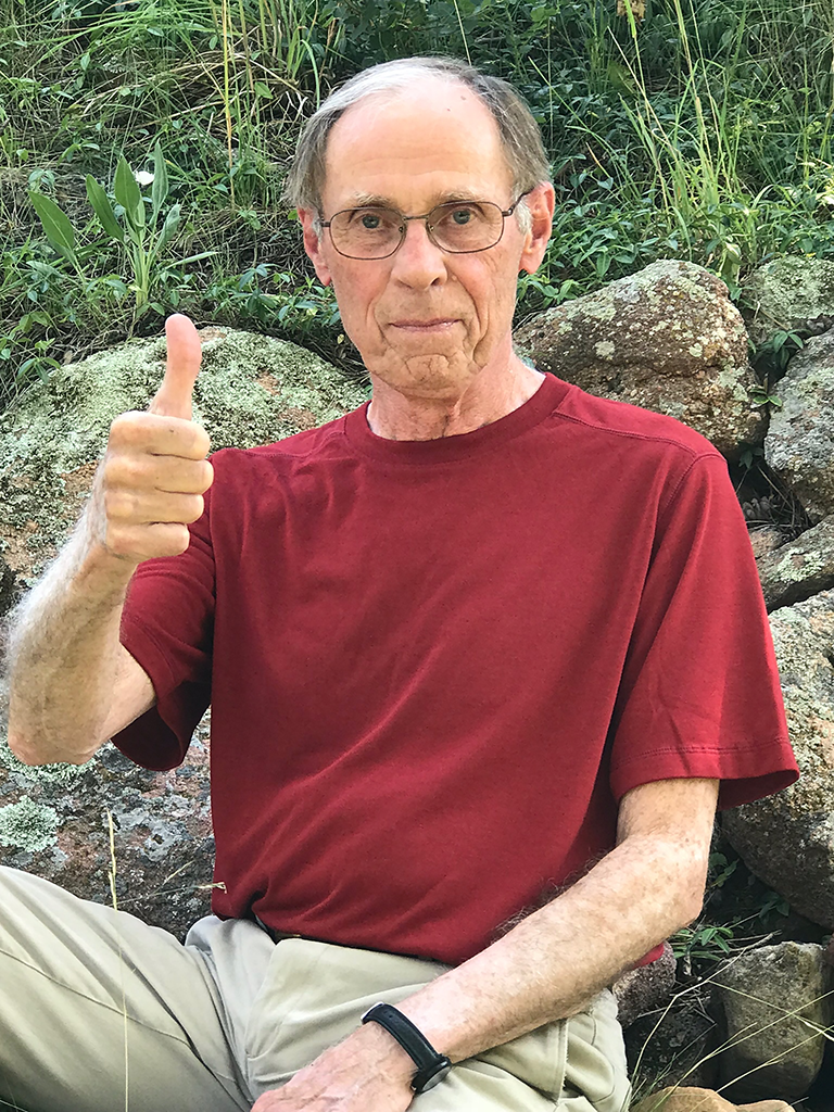 "Norman R. Pace, 2018.  Photo from ""The small things can matter"" by Pace (PLoS Biol 16(8): e3000009)."