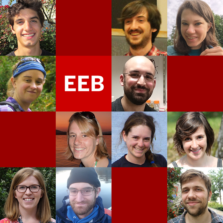 EEB graduate students.